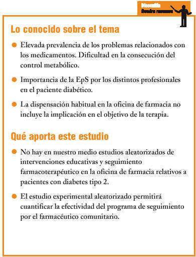 seguimiento farmacoterapeutico diabetes mellitus