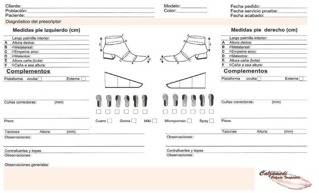 948409920 En este trabajo se aborda cómo realizar la toma del molde de escayola sobre  los pies del paciente, así como la descripción de la hoja de medidas y las  ...