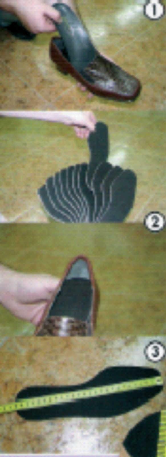 ae942caec Luego, se mide con un metro en centímetros desde el centro de la punta  hasta el centro del talón. Los centímetros que se anoten corresponderán, ...
