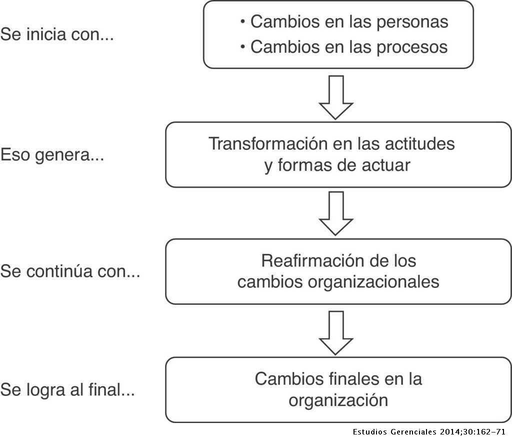 Los Procesos De Cambio Organizacional Y La Generación De