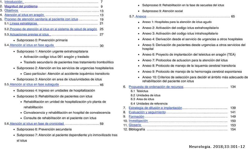 Programa de Atención al Ictus en Aragón (PAIA)  Estrategia
