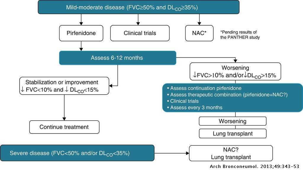 Guidelines for the Diagnosis and Treatment of Idiopathic
