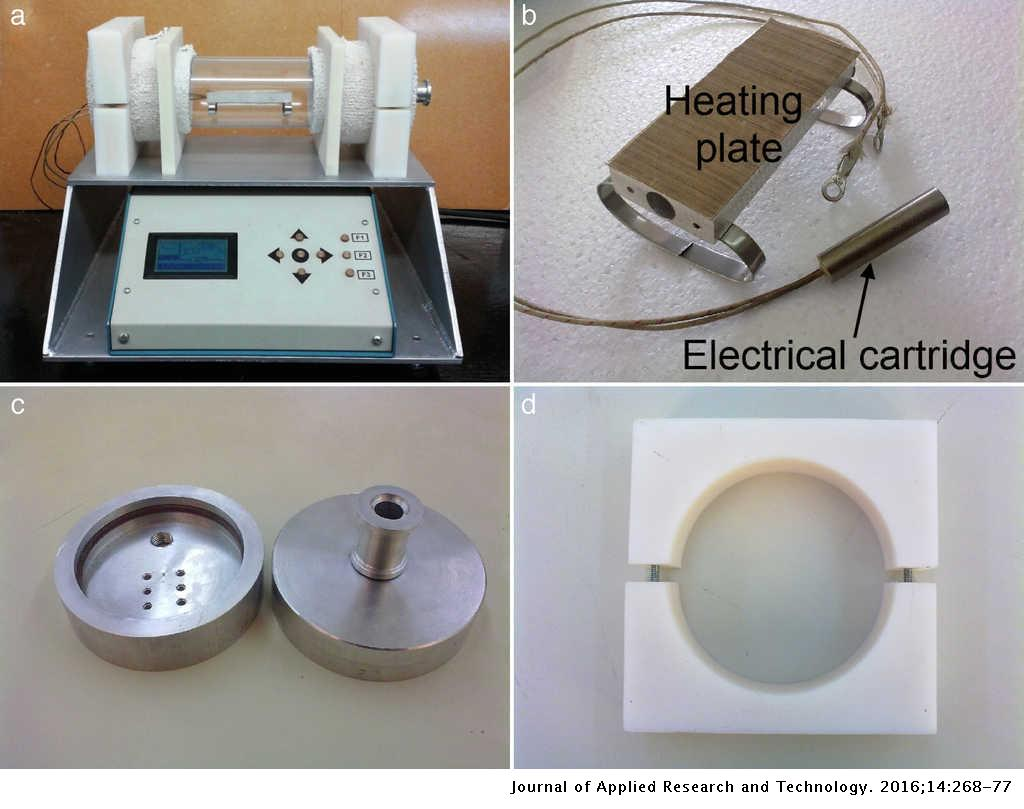 A dedicated electric oven for characterization of thermoresistive