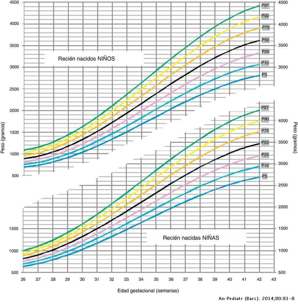 percentil peso neonato
