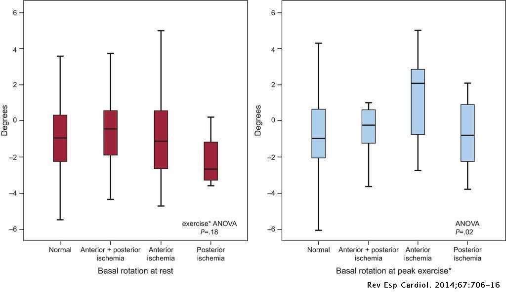 Left Ventricular Torsion During Exercise in Patients With