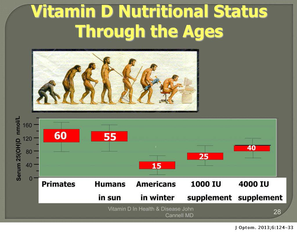 The importance of vitamin D in systemic and ocular wellness