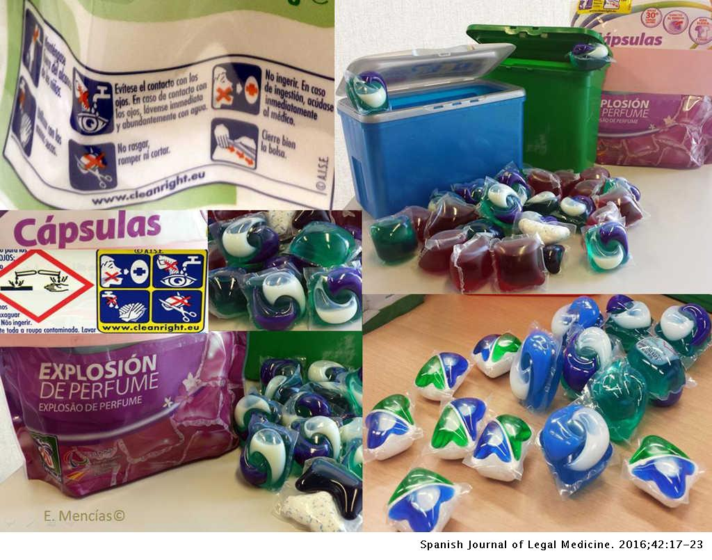 Toxic exposure to laundry detergent capsules in Spain