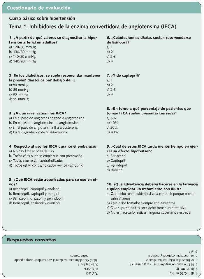 diabetes inhibidor de ace sin hipertensión