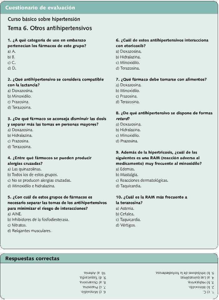 Línea de salud de medicamentos antihipertensivos