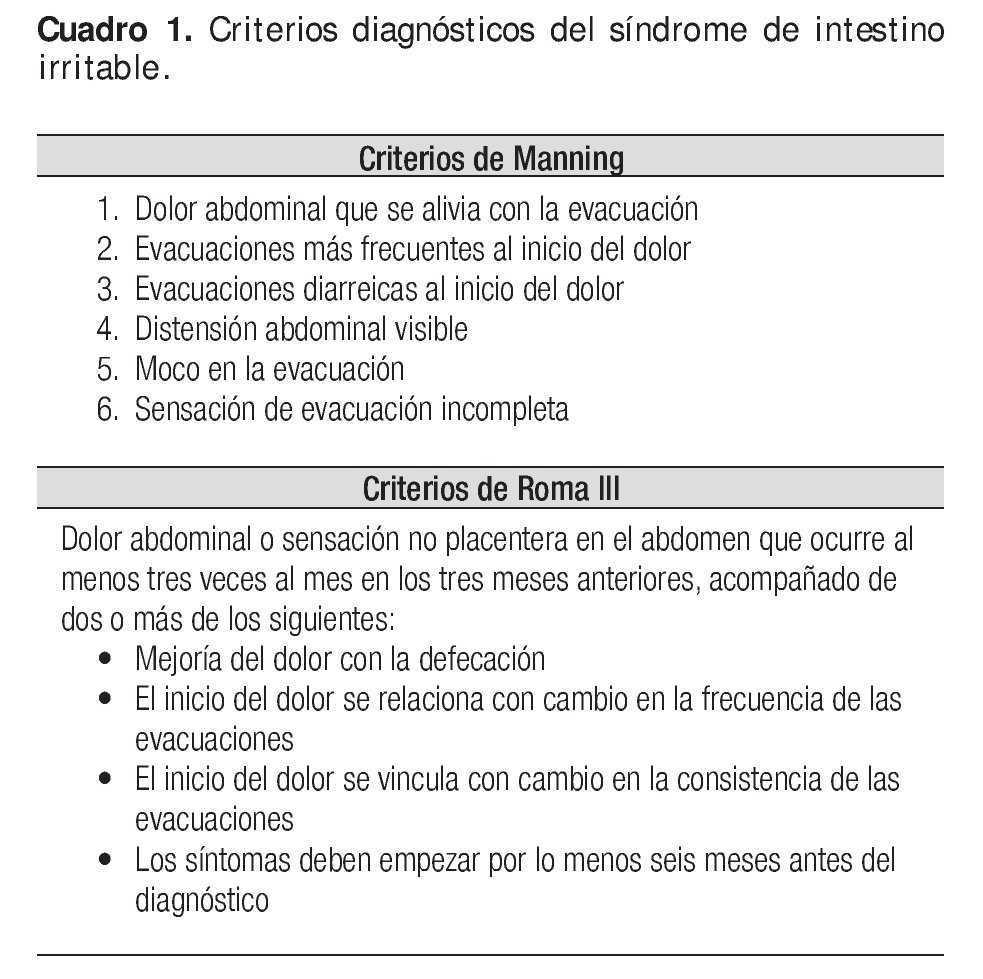 colon irritable sintomas y signos de diabetes