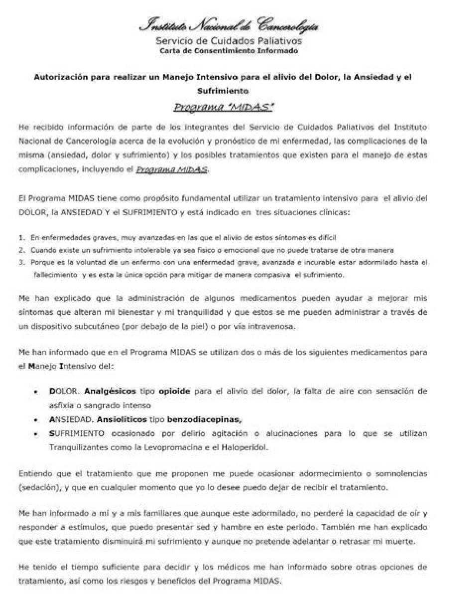 El Periodo De La Agonia Gaceta Mexicana De Oncologia