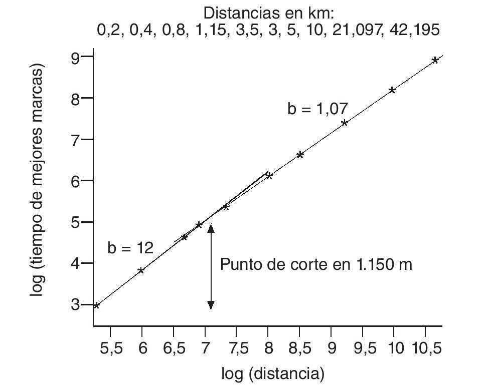 Aparición de leyes de potencia en el deporte | Revista Andaluza de ...