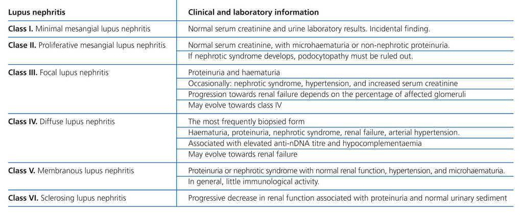 Diagnosis and treatment of lupus nephritis  Consensus