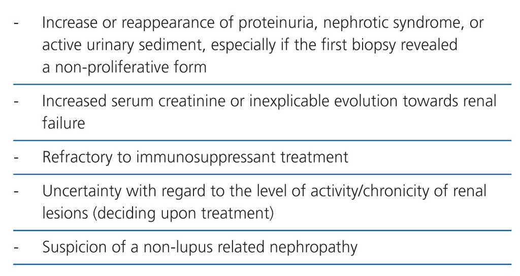 Diagnosis and treatment of lupus nephritis  Consensus document from