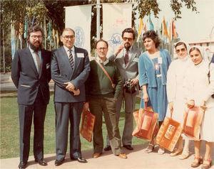 XII Congreso Internacional de Lepra. Nueva Delhi, 1984.