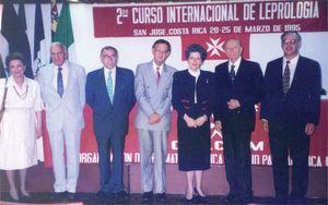 2° Curso Internacional de Leprología. Costa Rica, 1995.