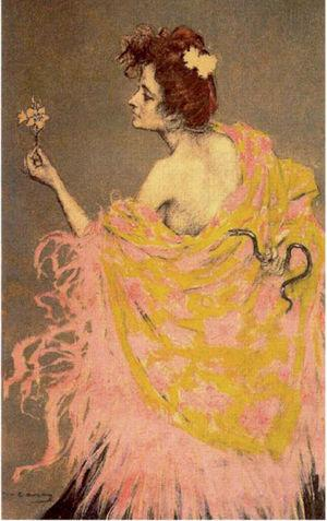 «Sífilis», de Ramón Casas.