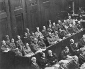 Nuremberg, Alemania. Juicio de los Médicos 1946-1947. Archivo fotográfico de Yad Vashem.