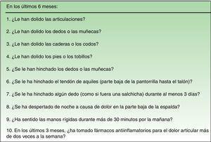 Ítems de la versión en español del cuestionario EARP tras el proceso de adaptación cultural.