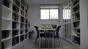 Biblioteca de la AEDV Prof. García Pérez en el Museo Olavide. Facultad de Medicina de la Universidad Complutense de Madrid.