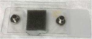 Dispositivo de aplanamiento del tejido.