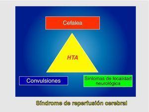 Clínica del síndrome de reperfusion cerebral.