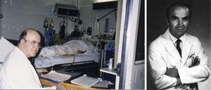 William Kelly con la primera paciente trasplantada. Richard Lillehei.