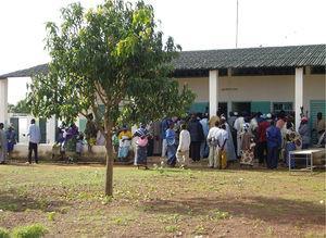 Consultorio en Kafana (Mali).