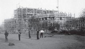 Construcción del Instituto (1926).