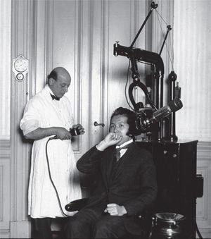 Consultorio de Carelli, radiología dental.