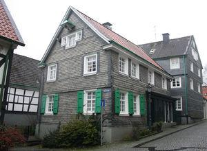 La casa natal de Roentgen.