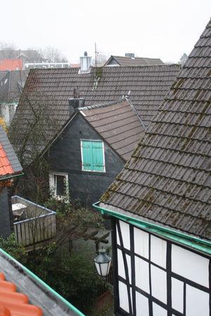 Los techos de las casas típicas de Lennep.
