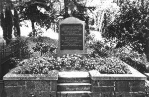 La tumba de Roentgen en el cementerio de Giessen.