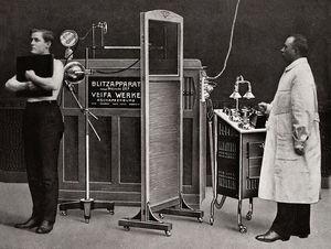 Examen de tórax (1912).