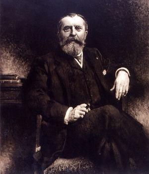 El político y empresario francés Gastón Menier (1855-1934).