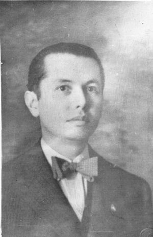 Fotografía del doctor Carlos Trujillo Gutiérrez. Cortesía del Doctor José del Carmen Trujillo Jáuregui.