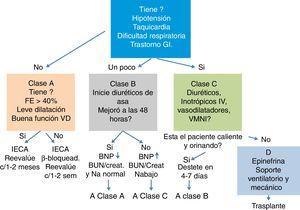 Enfoque de manejo inicial de la falla cardíaca Modificado de Kantor y Mertens1.