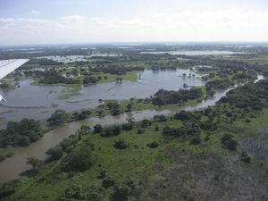 Lagunas y ríos en el sistema lacustre tabasqueño. Fotografía: D. Lorente.