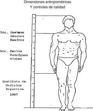 Portada de la primera guía rectora del trabajo metodológico en el campo de la Bioantropología del Deporte en Cuba.