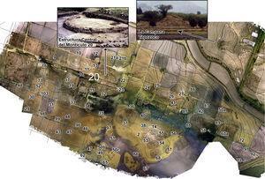 Sectores explorados por el Proyecto Arqueológico Santa Cruz Atizapán.