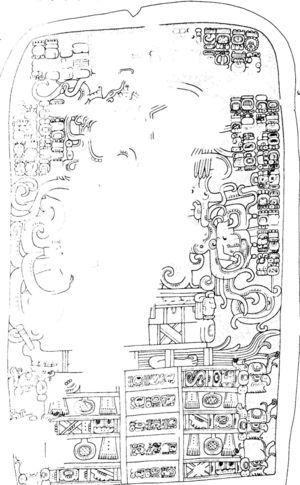 Estela 32 de Naranjo, Clásico Tardío