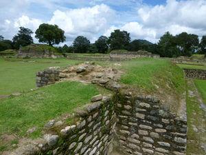 El sitio arqueológico de Iximche', Chimatenango, Guatemala