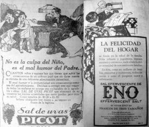 """""""La felicidad del hogar"""", Excélsior, 16 abril, 1933, p. 8, y El Universal, 11 de agosto, 1935, p. 5"""