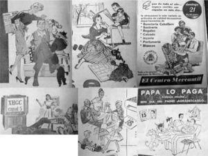 Detalle anuncios. El Universal, 15 de junio de 1950, p. 16; 9 de junio de 1953, p. 10; 18 de junio de 1953, p. 13; 4 de junio de 1958, p. 16; 8 de junio de 1958, p. 12; 16 junio de 1960, p. 48