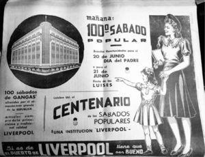 """""""Mañana 100o. sábado popular"""", Excélsior, 18 de junio de 1943, p. 16"""