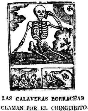 Las calaveras borrachas claman por el chinguirito (1836). México: Hipólito Lagarza.