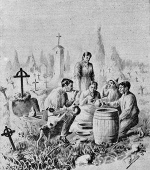 El panteón de los Dolores (Iriarte, G., en El Mundo, noviembre de 1895).