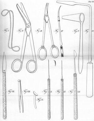 Instrumental quirúrgico.