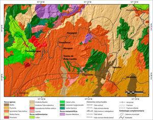 Geologia del area de interes.