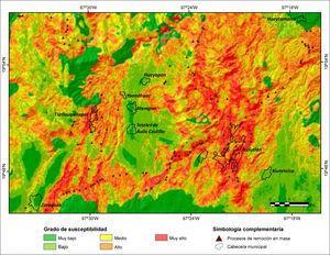 Susceptibilidad a PRM en la Sierra Nororiental de Puebla mediante la aplicacion de Pesos de Evidencia.